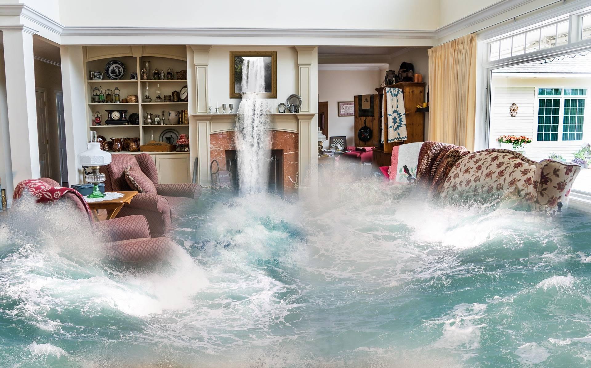 Pozor, havárie vody znamená únik našich peněz!